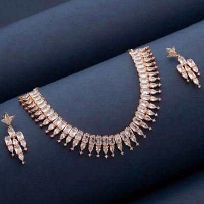 Farisha Crystal Necklace Set - Blingvine