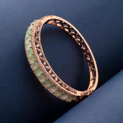 Afreen Mint Green Bracelet - Blingvine