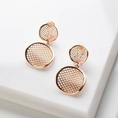 Anna Mesh Dangle Earrings