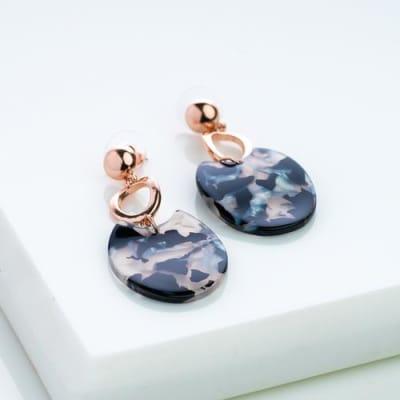 Ebony Dangle Earrings