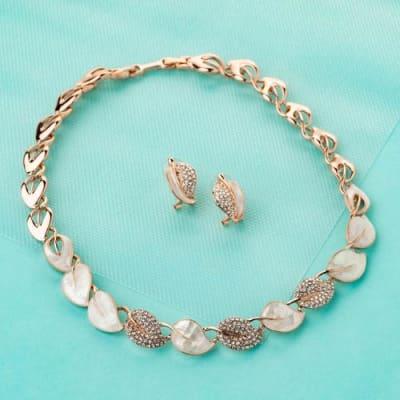 Spring Goddess Choker Necklace Set