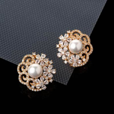 Bella Crystal Studs - BlingVine