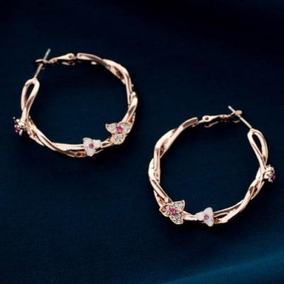 Pashmina Loop Earrings