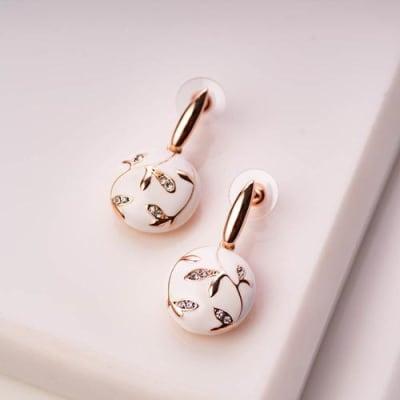 Maahiya Enamel Earrings