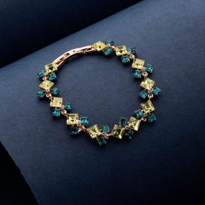 Venice Colour Crystal Bracelet - Blingvine