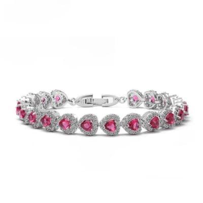 Paris Crystal Love Bracelet - BlingVine