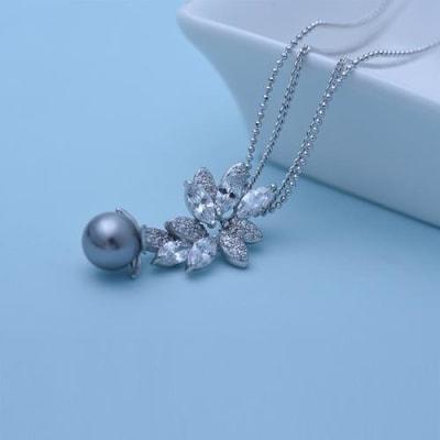 Posh Pearl Necklace