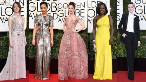 Top 5 looks from the Golden Globe Awards 2017