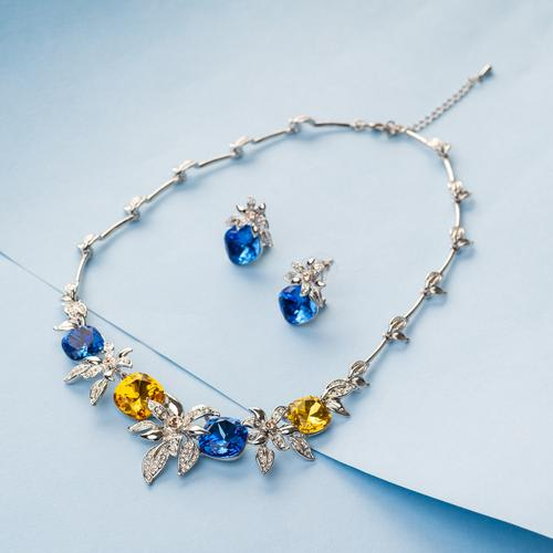 Royal Affair Necklace Set - BlingVine