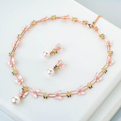 Paradise Necklace Set - BlingVine