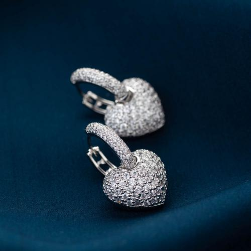 Sweetheart Earrings - BlingVine