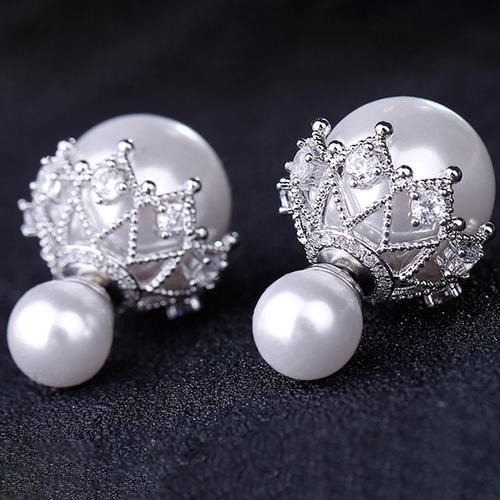 Bubble Pearl Studs