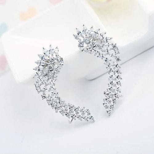 Angel Wings Ear Cuffs - BlingVine