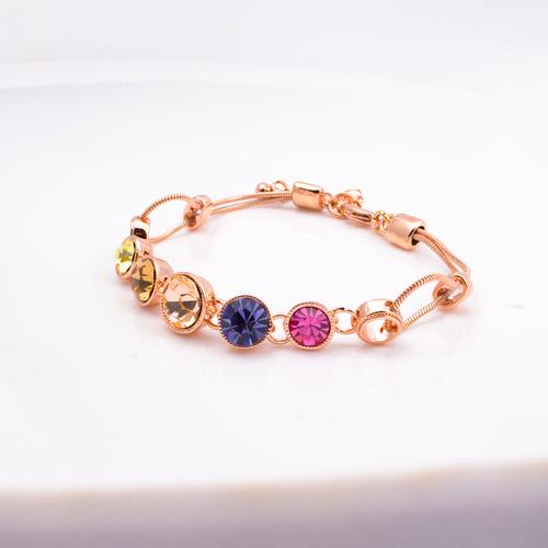 Rainbow Crystal Bracelet - BlingVine