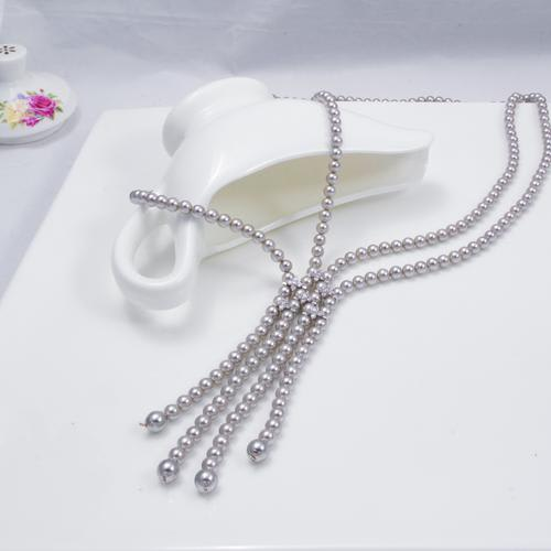 Charisma Pearl Long Necklace