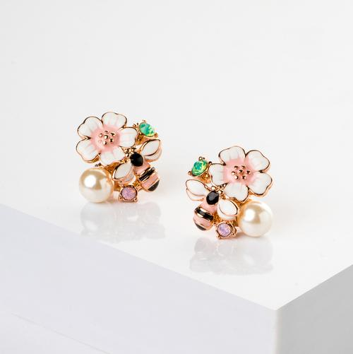 Queen Bee Studs - BlingVine