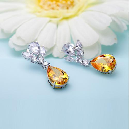 Amber Earrings - BlingVine
