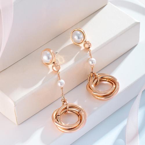 Emma Long Earrings - BlingVine