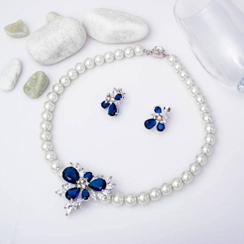 Precious Pearl Necklace Set - BlingVine