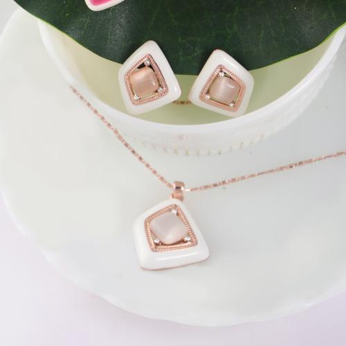 Marble Pendant Set