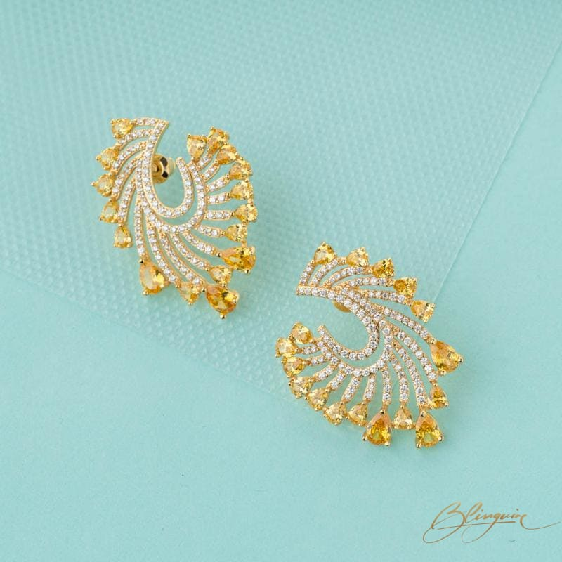 Jia Stud Earrings - BlingVine