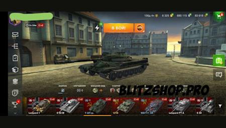 T 55A, leKpz M 41 90 mm, Skorpion G, T-22 cp., WZ-111 5A 75.42% 2632