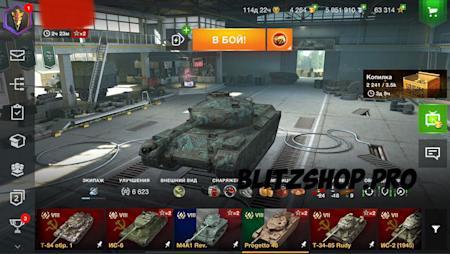 T-22cp., Sheridan, WZ-113 73.03% 2473