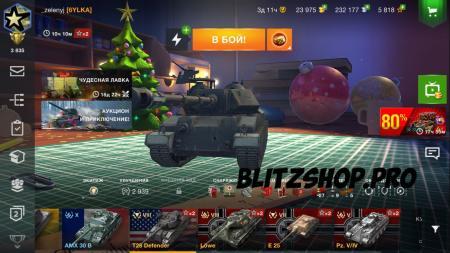 AMX30B, Love, T28Defender 72.73% 3096