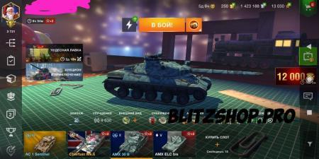 AMX30B, Chieftain Mk.6, AMX ELC bis 62.34% 2423