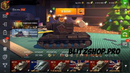 M60, T-54, Об.268 62.54% 1983