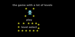 the game with a lot of levels