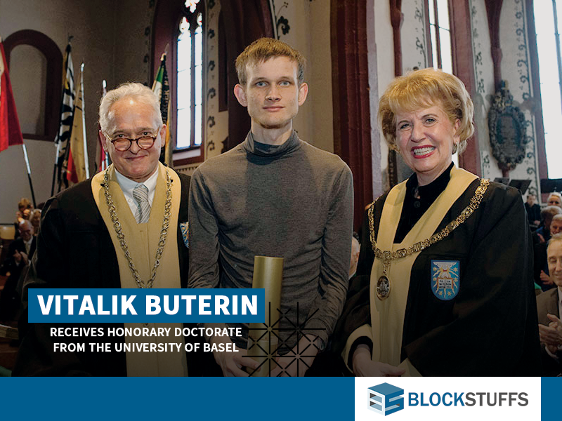 Vitalik Buterin receives Honorary Doctorate