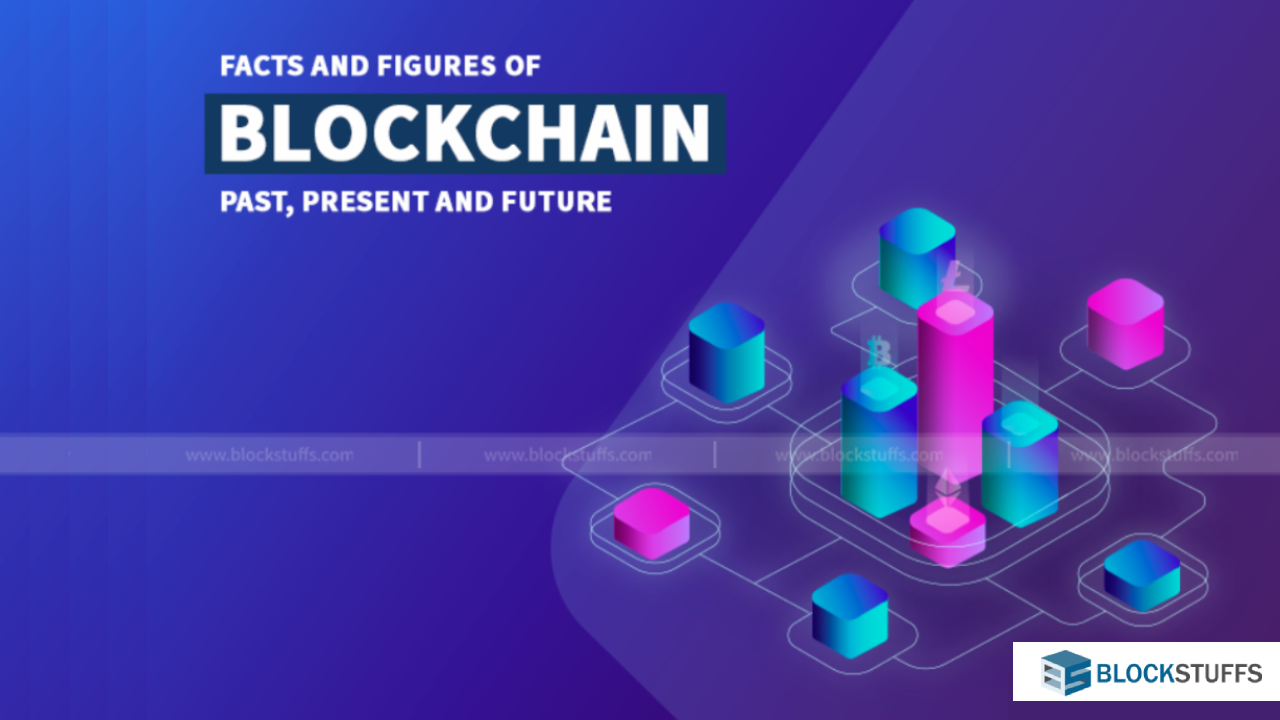 Past present and future of Blockchain in facts and figures