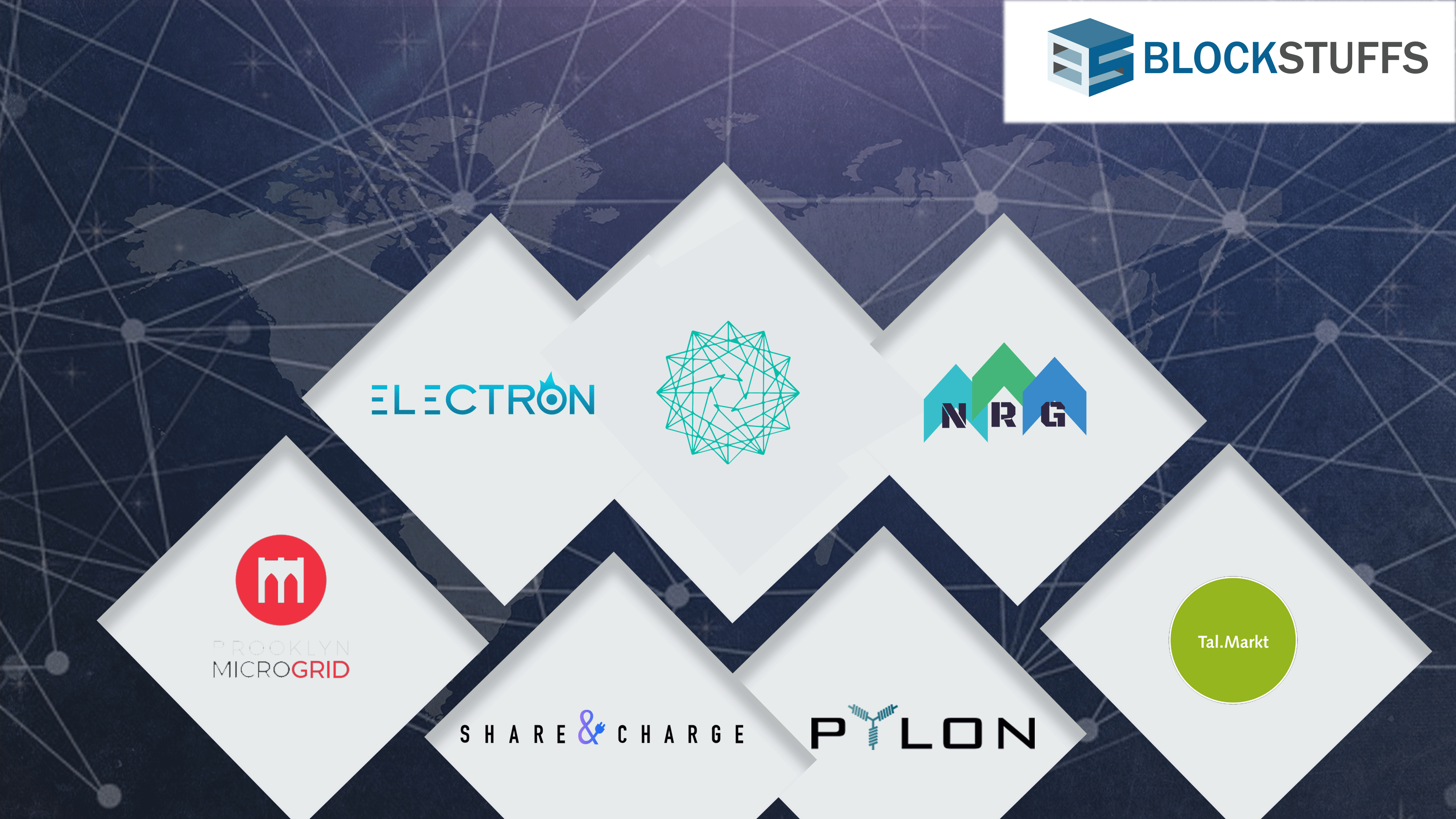 Integration of Blockchain and Energy Around the World