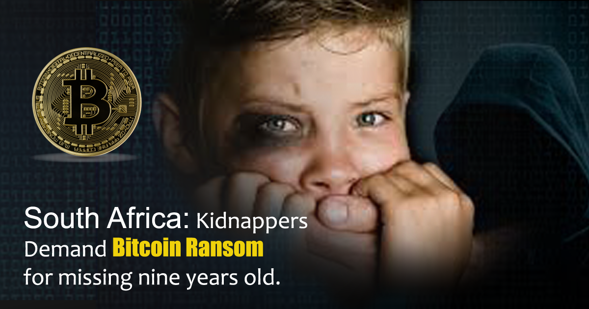 South Africa: Kidnappers Demand Bitcoin Ransom for Missing Nine-Year-Old