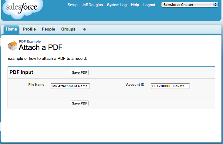 Attach a PDF to a Record in Salesforce