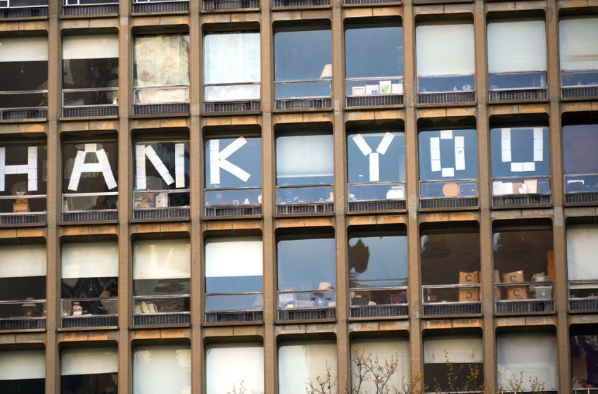 In Times of Crisis, a Little Thanks Goes a Long Way