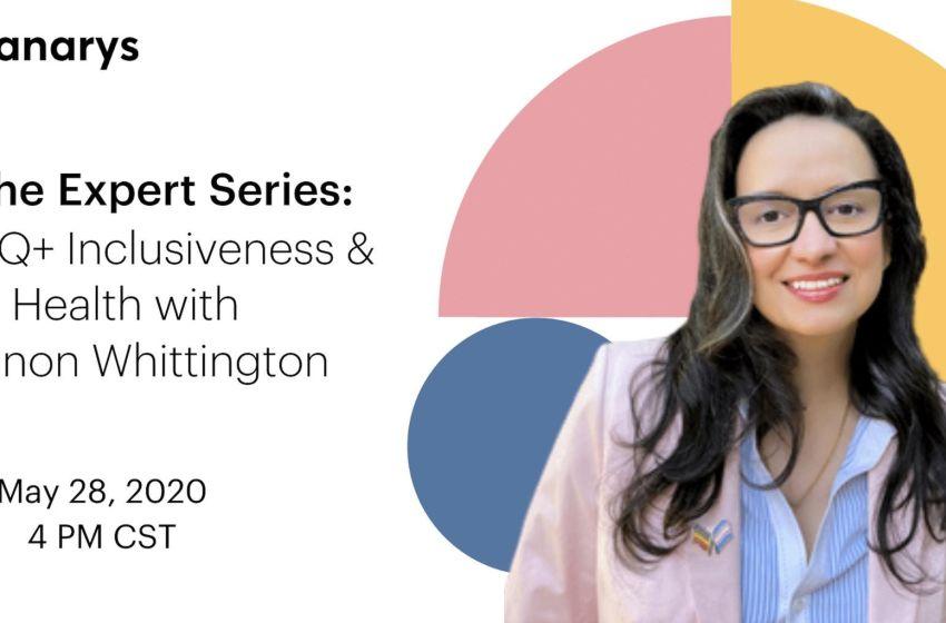 LGBTQ+ Inclusiveness & Health with Shannon Whittington