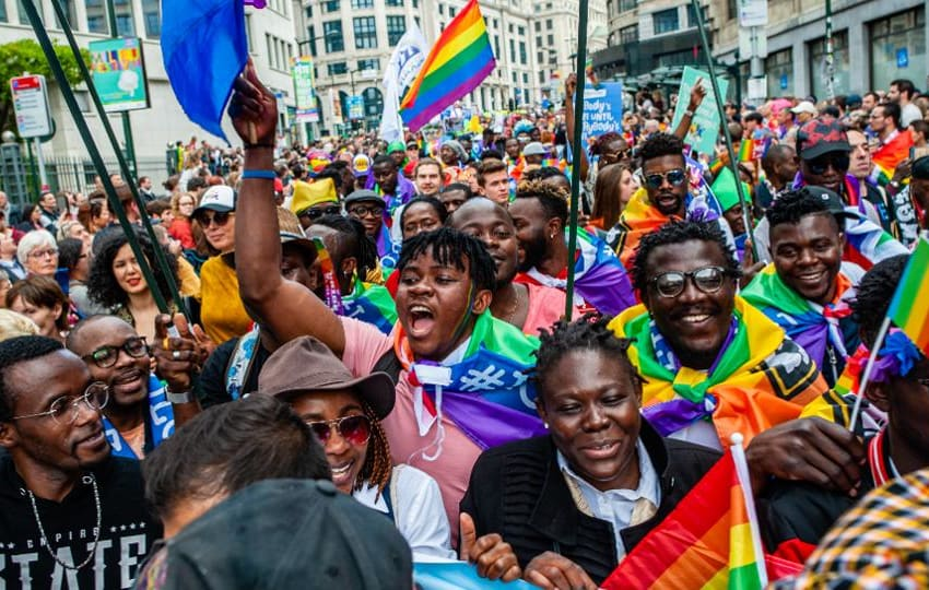 Global Pride To Focus On Black Lives Matter At First Worldwide LGBT Event