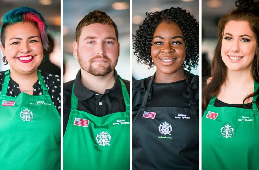 Starbucks CEO: We plan to hire 5,000 veterans annually