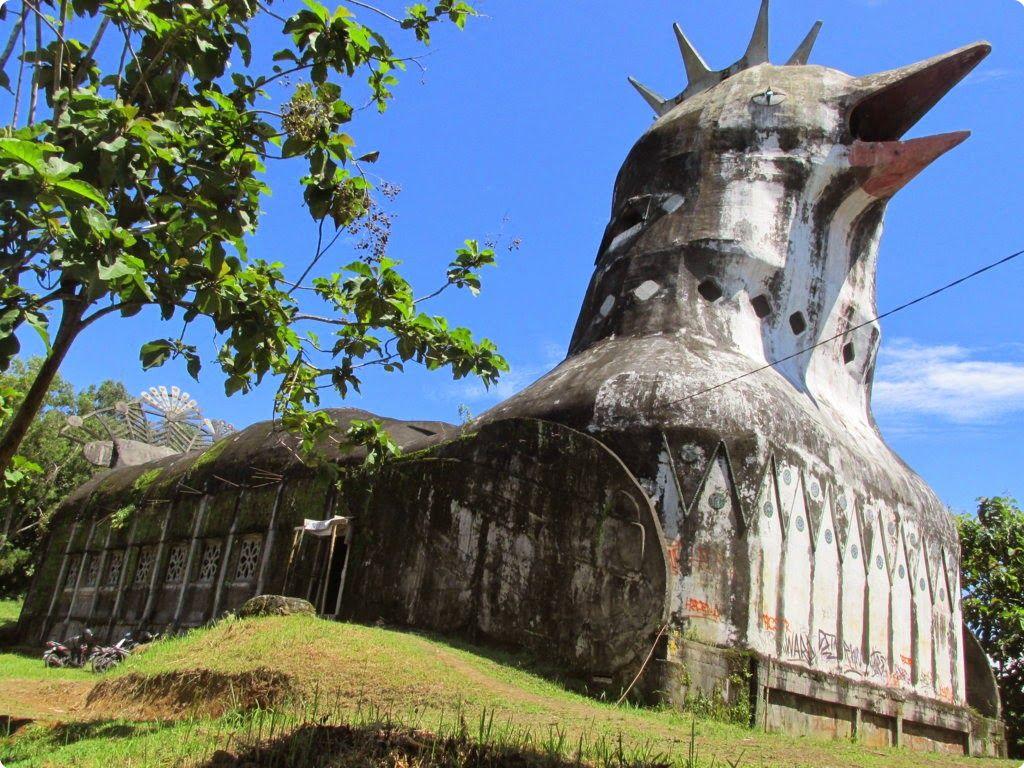 Gereja sebagai tempat wisata di magelang