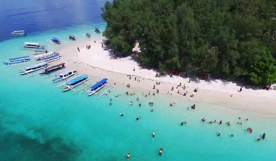 Tempat Wisata di Lombok Gili Kesun