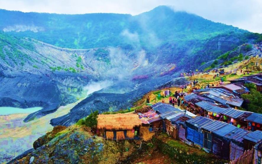 Legenda Gunung Tangkuban Perahu