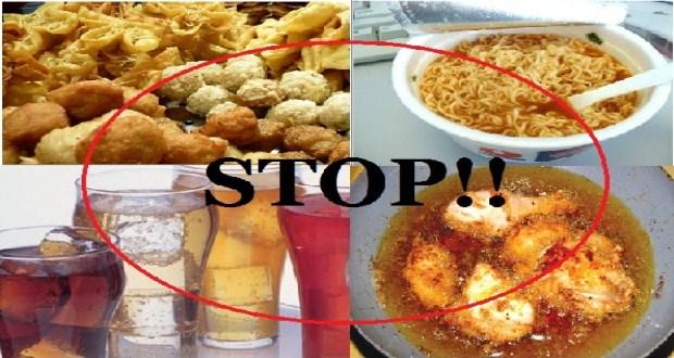 Makanan Menggangu Maag