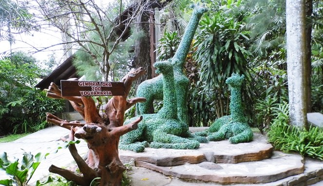 Tempat wisata kebun bianatag Gembira Loka Jogja