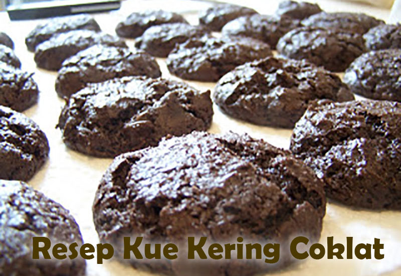 Cara Membuat Kue Kering Coklat Chips
