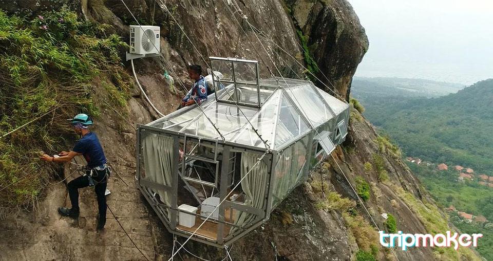 Tempat Wisata Purwakarta Gunung Parang
