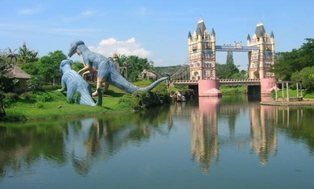 Fantasy Island Cibubur Menjadi Tempat Wisata Keluarga
