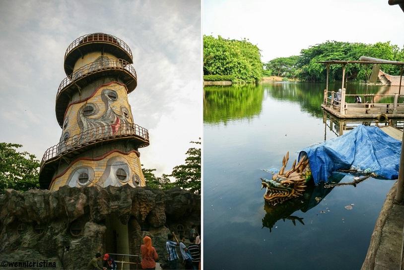 Lokasi Fantasy Island Cibubur