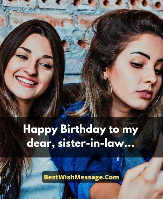 Spiritual Birthday Wishes for Sister-in-Law